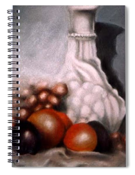 White Carafe Spiral Notebook