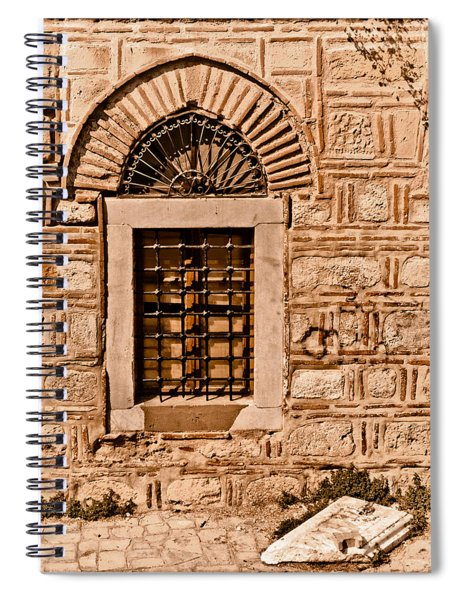 Athens, Greece - Window Break Spiral Notebook