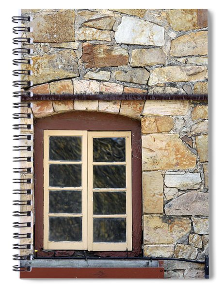 Window Into The Past Spiral Notebook