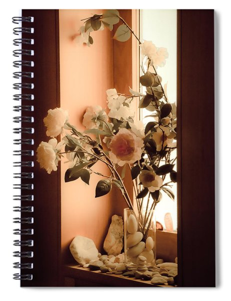 Athens, Greece - Window Sill Spiral Notebook