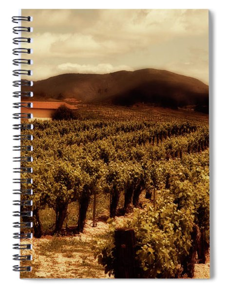 Wine Country Spiral Notebook