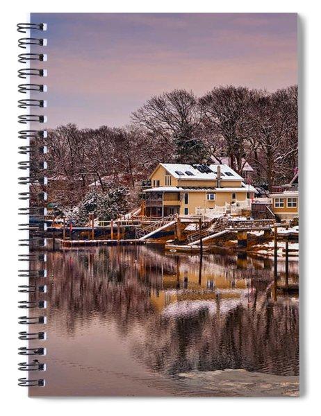 Winter Cove Spiral Notebook