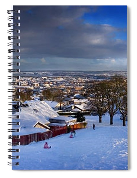 Winter In Inverness Spiral Notebook