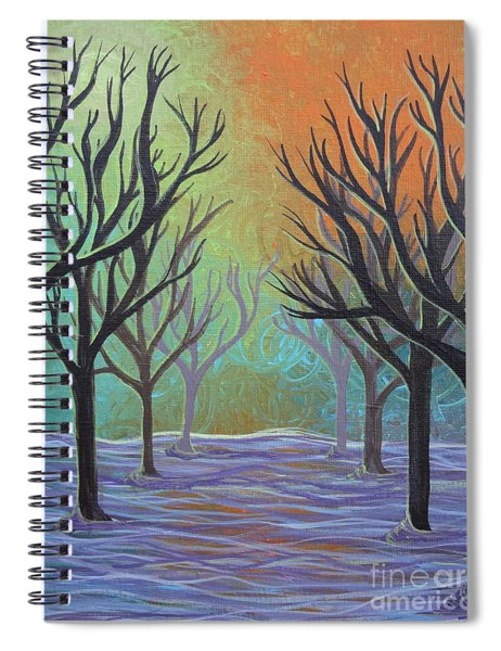 Winter Solitude 11 Spiral Notebook