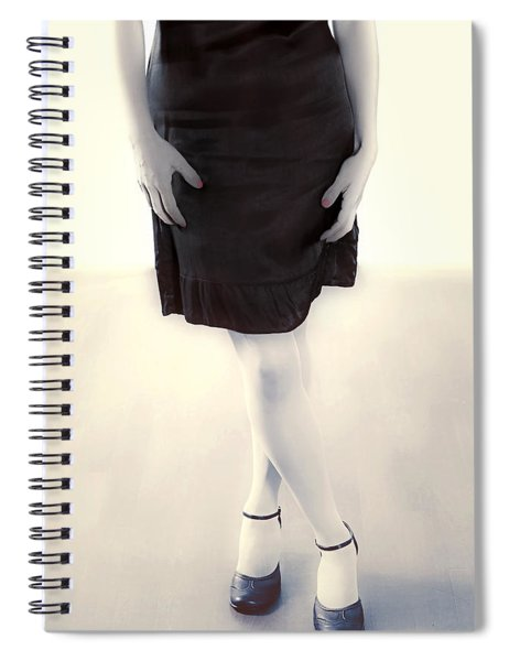 Woman In A Dress Spiral Notebook