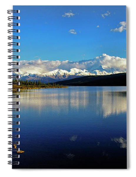 Wonder Lake II Spiral Notebook