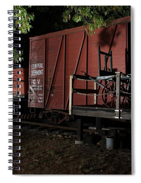 Working On The Railroad 2 Spiral Notebook