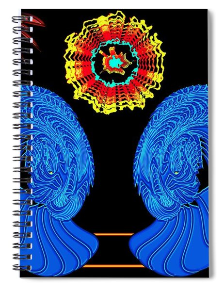 Worship Of The Dying Sun Spiral Notebook