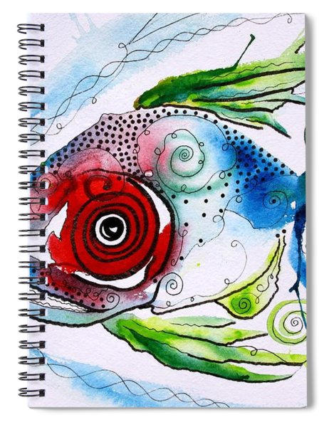Wtfish 001 Spiral Notebook