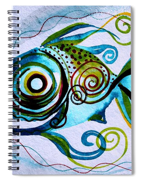 Wtfish 006 Spiral Notebook