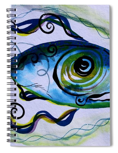 Wtfish 009 Spiral Notebook