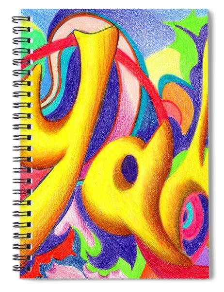 YAH Spiral Notebook