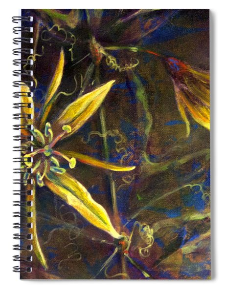 Yellow Passion Spiral Notebook
