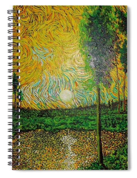 Yellow Pond Spiral Notebook