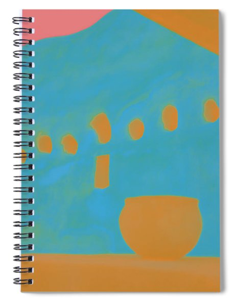 Yellow Pot Spiral Notebook