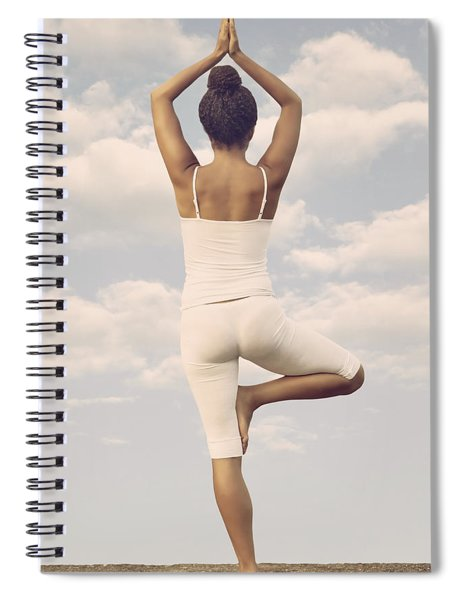 Yoga Spiral Notebook