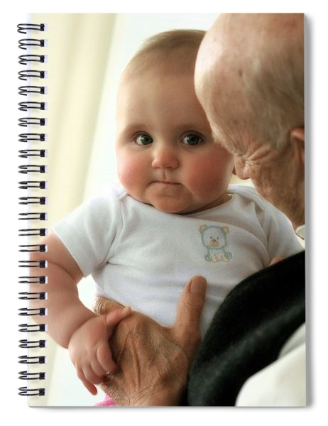 Young And Old Spiral Notebook