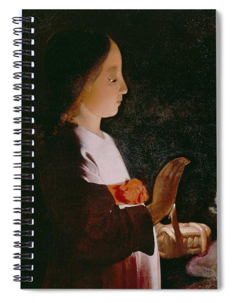 Young Virgin Mary Spiral Notebook