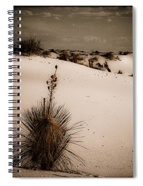 White Sands, New Mexico - Yucca Spiral Notebook