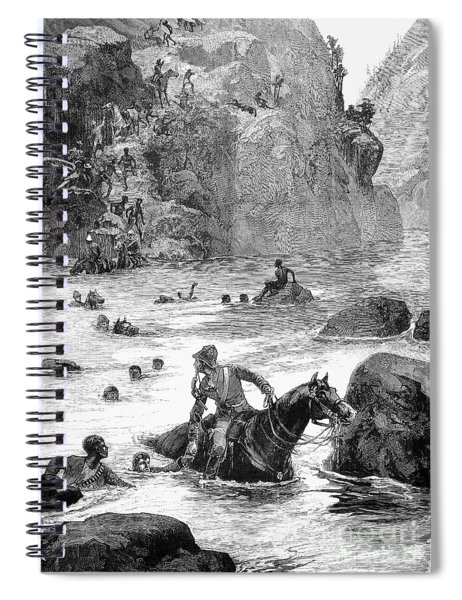 Zulu War: Retreat, 1879 Spiral Notebook