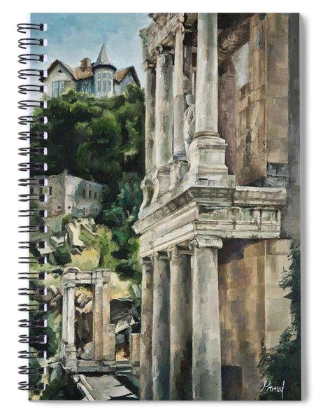 Ancient Amphitheater Spiral Notebook