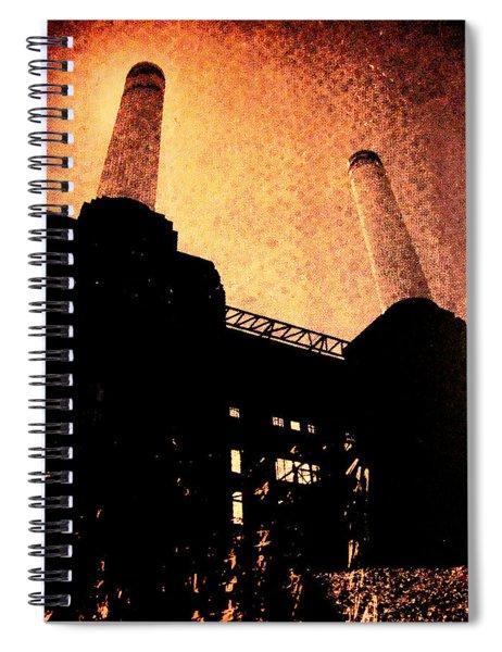 Battersea Power Station Spiral Notebook