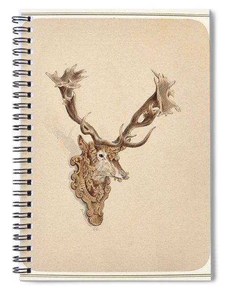 , Buck Head Spiral Notebook