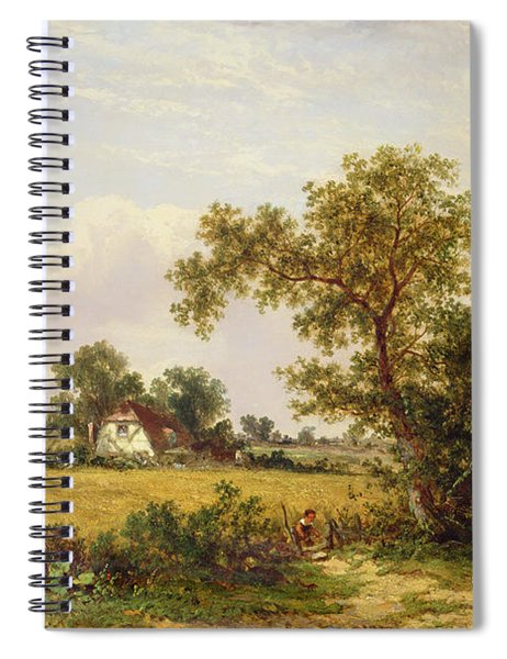 Essex Landscape  Spiral Notebook