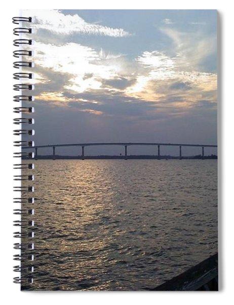 Gov Thomas Johnson Bridge Spiral Notebook