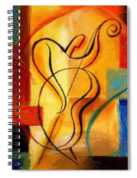 Jazz Fusion Spiral Notebook