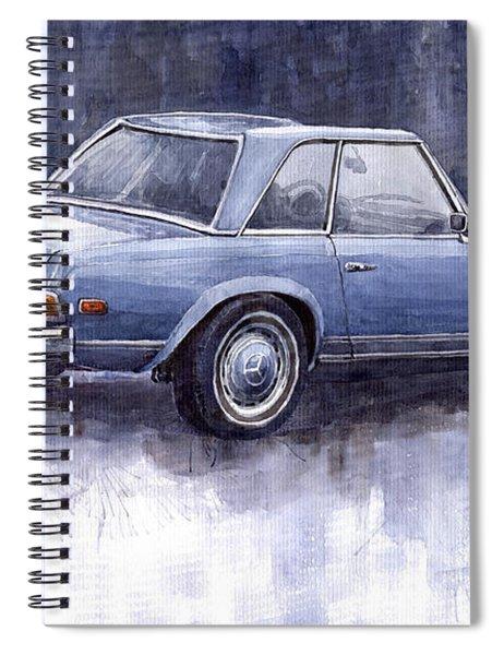 Mercedes Benz 280 Sl W113 Pagoda  Spiral Notebook