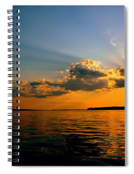 Perfect Ending To A Perfect Day Spiral Notebook