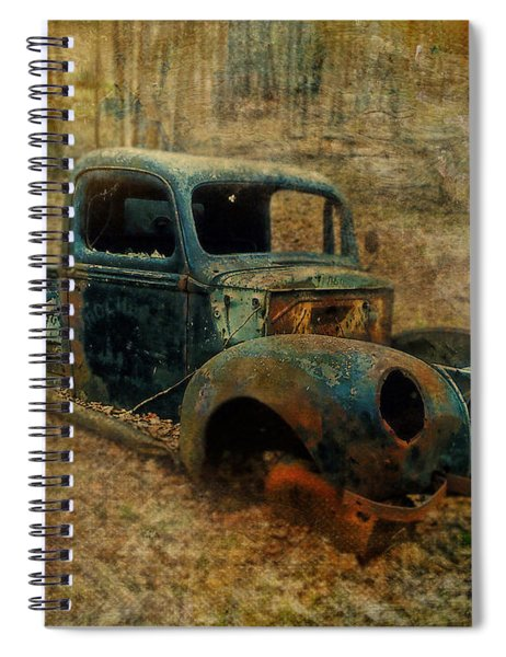 Resurrection Vintage Truck Spiral Notebook