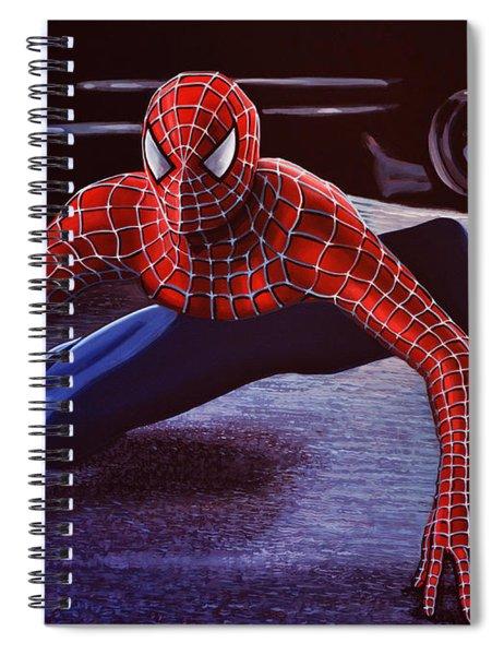 Spiderman 2  Spiral Notebook