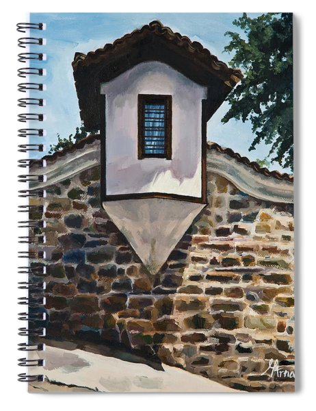The Small Window Spiral Notebook