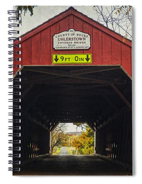 Uhlerstown Covered Bridge Iv Spiral Notebook