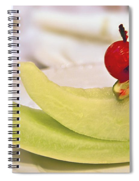 ... With A Cherry On Top Spiral Notebook