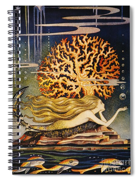 Andersen: Little Mermaid Spiral Notebook
