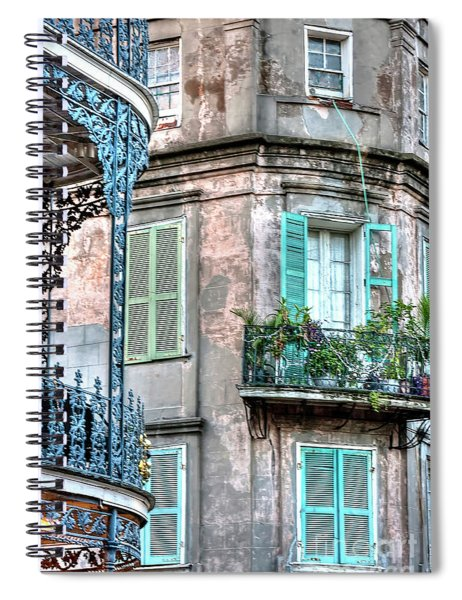 0254 French Quarter 10 - New Orleans Spiral Notebook