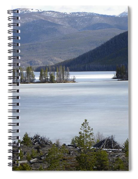 Granby Lake Rmnp Spiral Notebook
