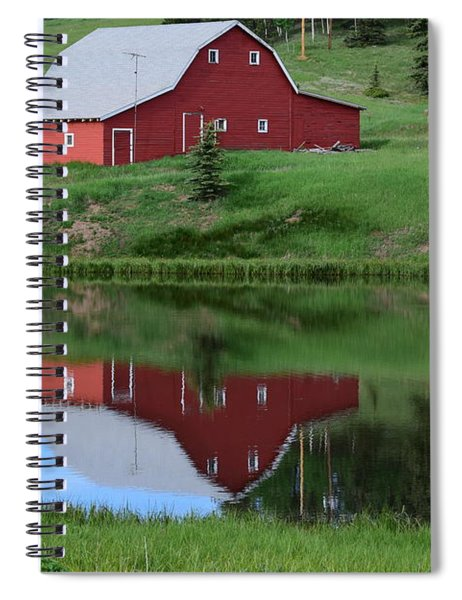 Red Barn Burgess Res Divide Co Spiral Notebook