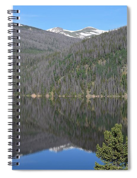 Chambers Lake Reflection Hwy 14 Co Spiral Notebook