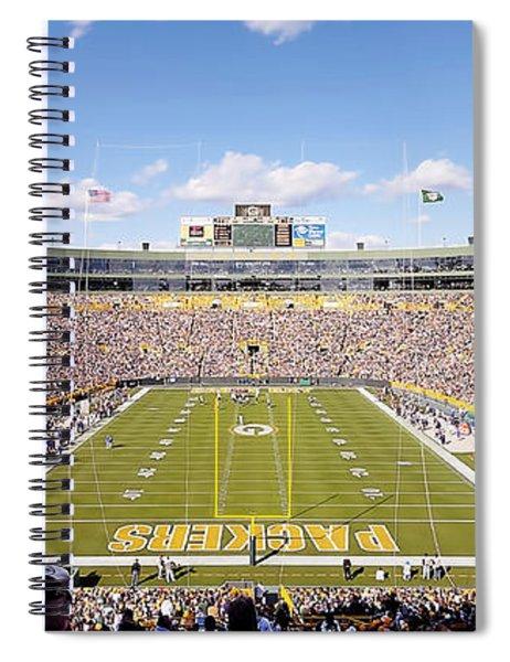 0991 Lambeau Field Spiral Notebook