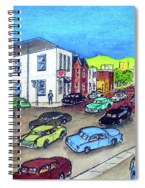 11th Street And Chillicothe Street The Old Salvation Army Citadel Spiral Notebook