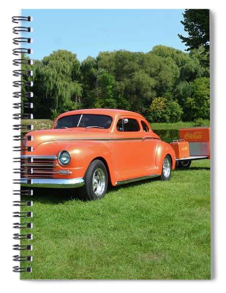 1948 Plymouth Grant Spiral Notebook