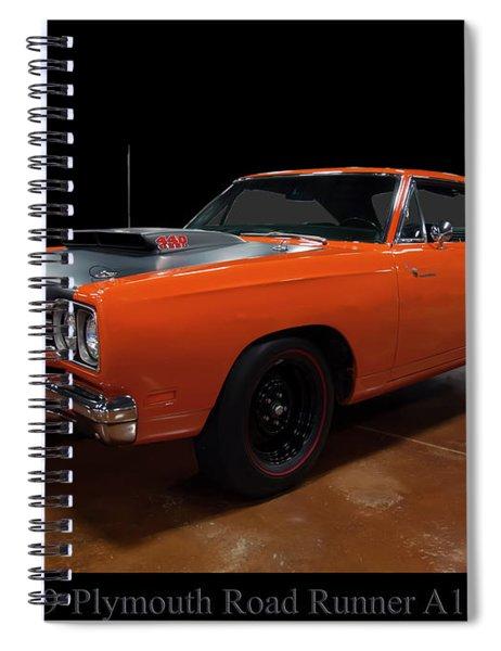 1969 Plymouth Road Runner A12 Spiral Notebook