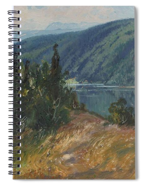 4196386  Carl Brandt   1871 1930    Landscape Spiral Notebook