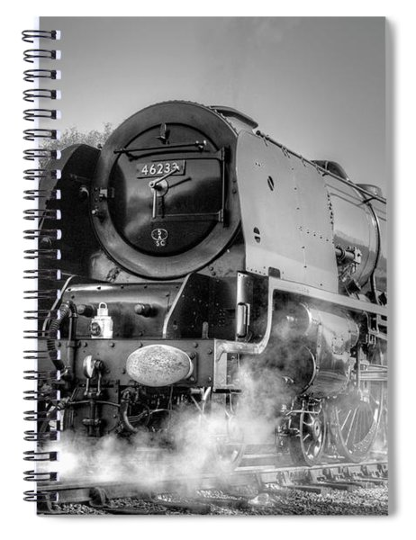 46233 Duchess Of Sutherland At Swanwick Spiral Notebook