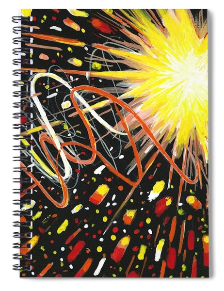 4th Of July Spiral Notebook