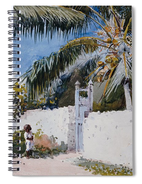 A Garden In Nassau Spiral Notebook